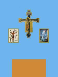 projekt ołtarza w kaplicy św. Dyzmy